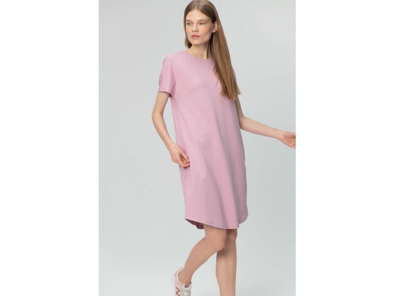 AUDIMAS Švelnaus modalo suknelė 2011-104 Mauve Shadows