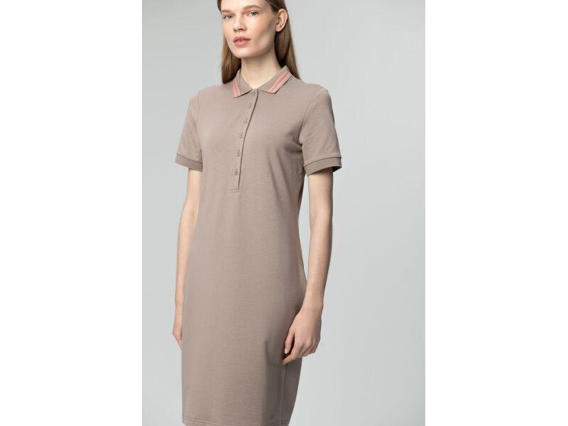 AUDIMAS Švelnaus modalo polo suknelė 2011-172 Cinder