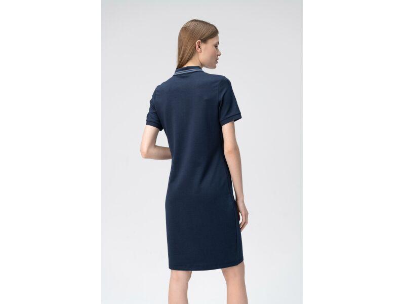 AUDIMAS Švelnaus modalo polo suknelė 2011-172 Navy Blazer