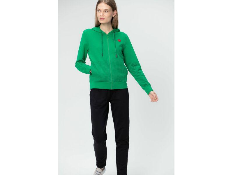 AUDIMAS Prasegamas džemperis 20LT-008 Jolly Green