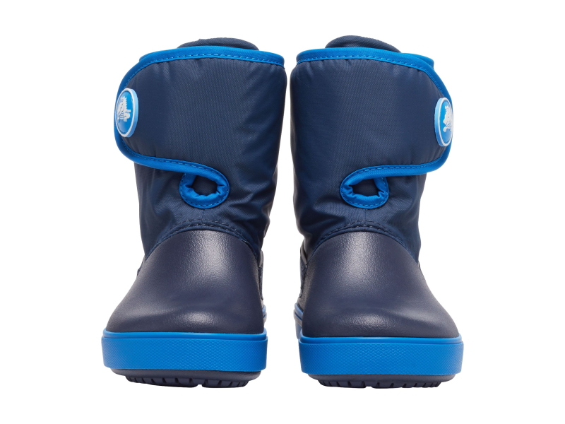 Crocs™ Kids' Crocband II.5 Gust Boot Navy/Bright Cobalt