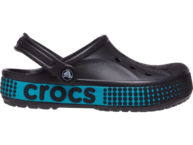Crocs™ Bayaband Logo Motion Clog Black