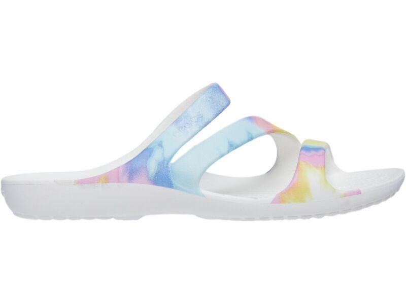 Crocs™ Kadee II Graphic Sandal Multi/White