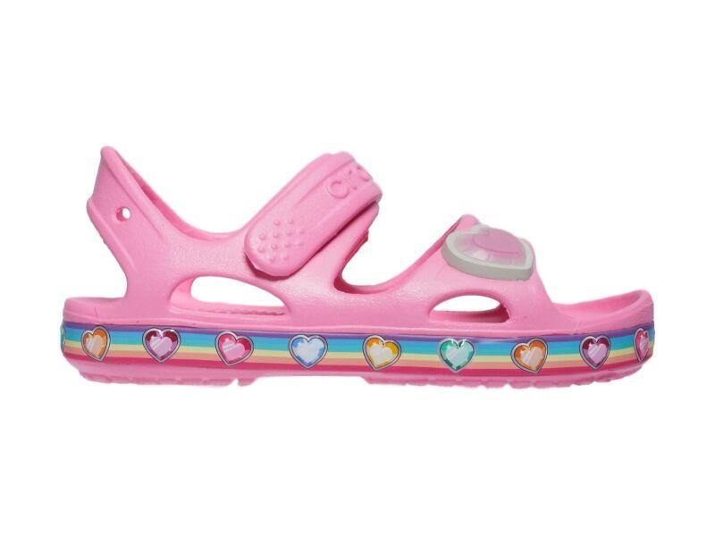 Crocs™ Fun Lab Rainbow Sandal Pink Lemonade