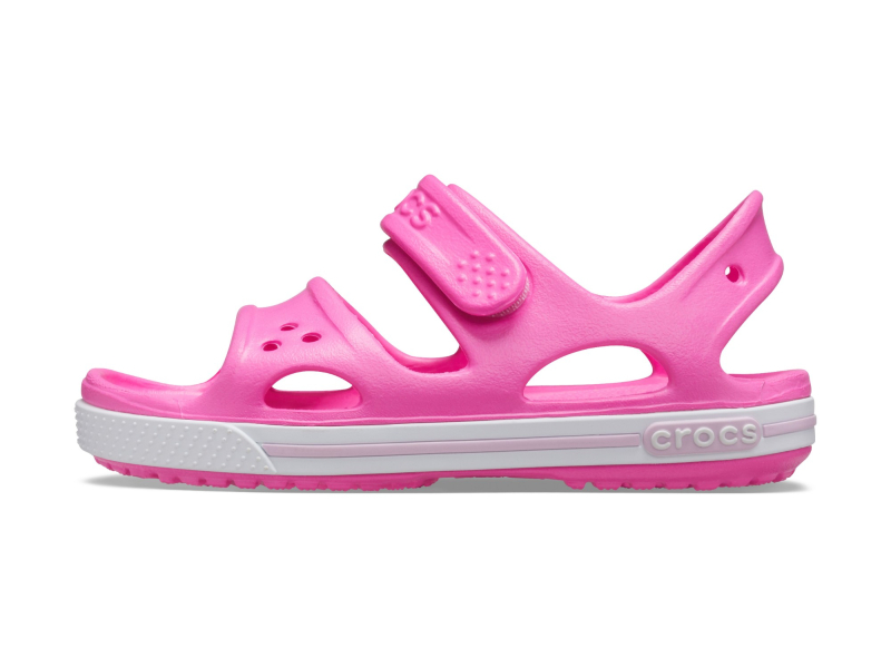 Crocs™ Kids' Crocband II Sandal PS Electric Pink
