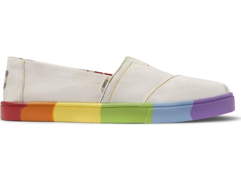 TOMS Unity Canvas Women's Alpargata Slip-On White
