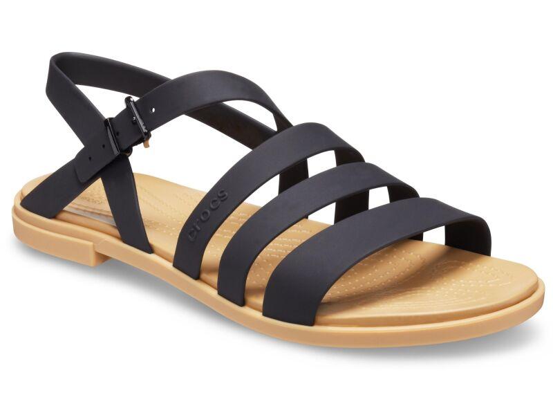 Crocs™ Tulum Sandal Womens Black/Tan