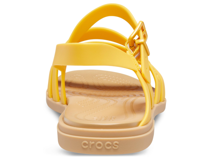 Crocs™ Tulum Sandal Womens Canary/Tan