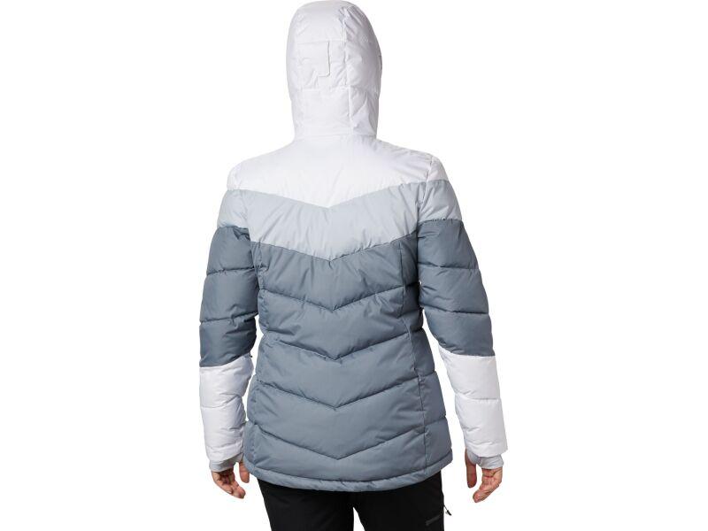 Columbia Abbott Peak Insulated Jacket Women's Grey Ash/White