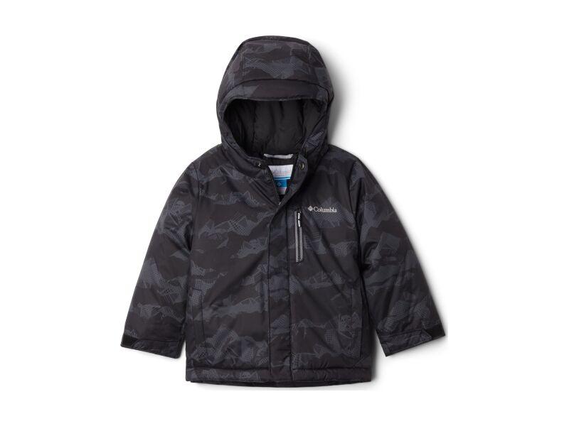Columbia Alpine Free Fall II Jacket Black MountainScape Print