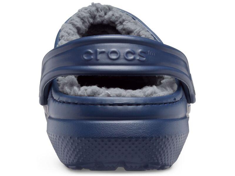 Crocs™ Classic Lined Clog Navy/Charcoal