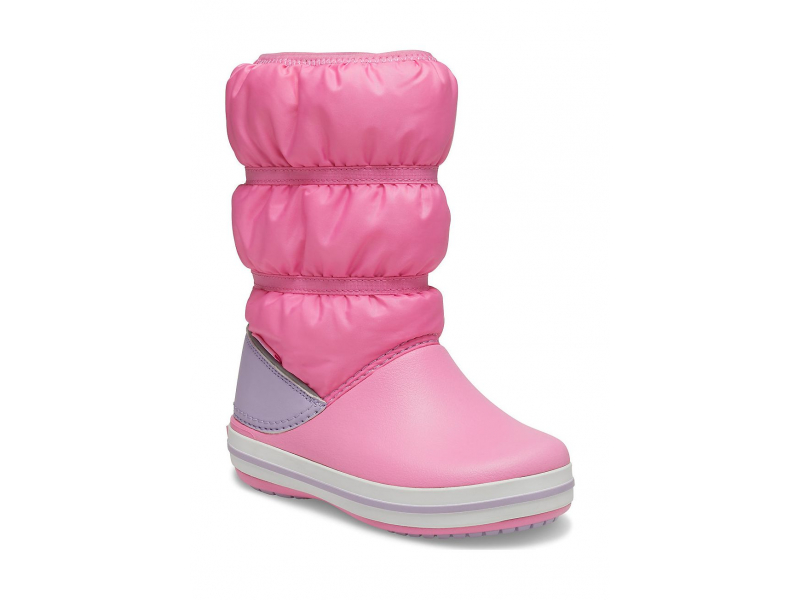 Crocs™ Crocband Winter Boot Kid's Pink Lemonade/Lavender
