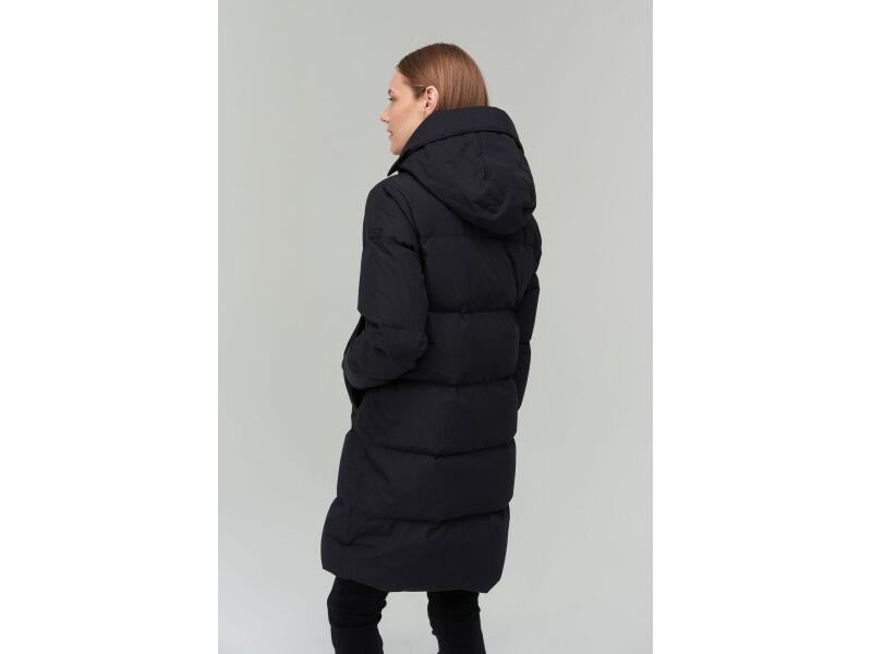 AUDIMAS Pūkinis paltas 2021-031 Black