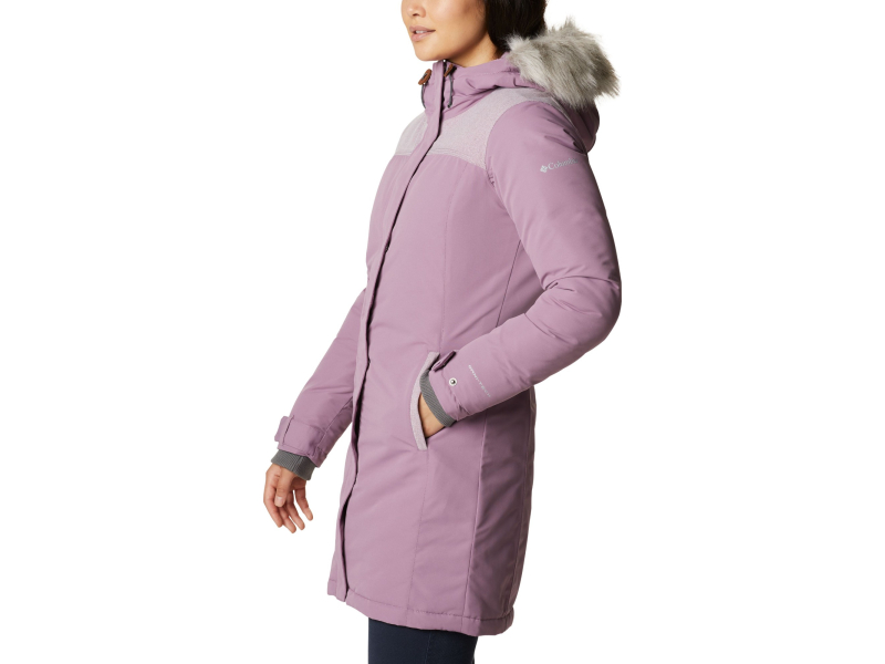 Columbia Lindores Jacket Women's Winter Mauve/Winter Mauve Heather
