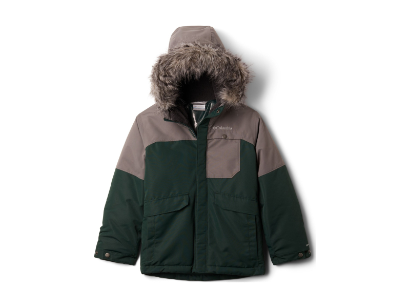 Columbia Nordic Strider Jacket Boys Spruce/City Grey