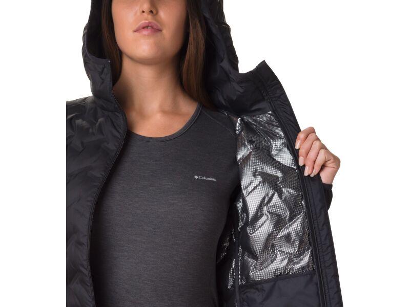 Columbia Delta Ridge Down Hooded Jacket Women's Black