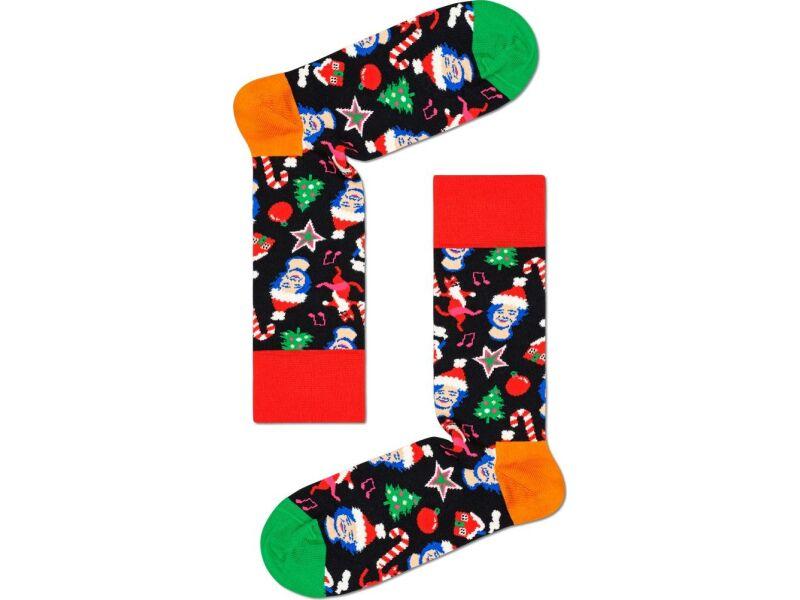 Happy Socks Santa Cats And Hats Sock Multi 9301