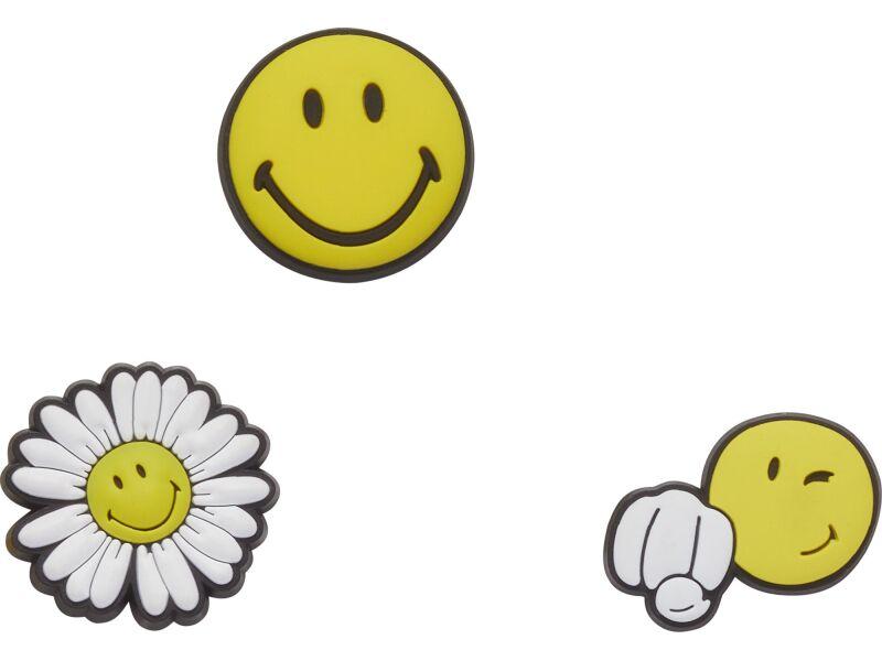Crocs™ Crocs SMILEY CHEER UP 3-PACK G0795100-MU