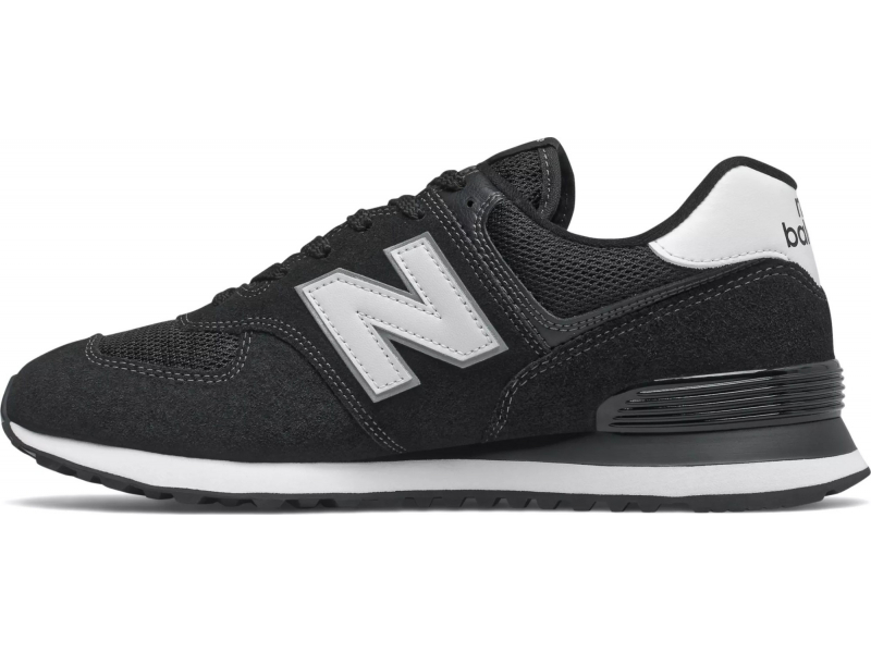 New Balance ML574 T2 Black/White EE2