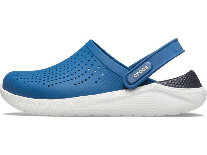 Crocs™ LiteRide Clog Vivid Blue/Almost White