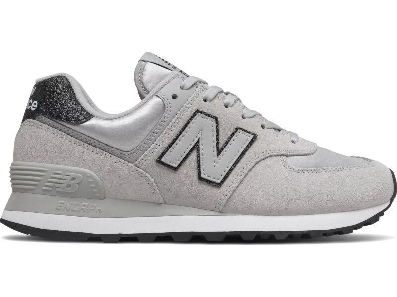 New Balance WL574 Nubuck Grey FM2