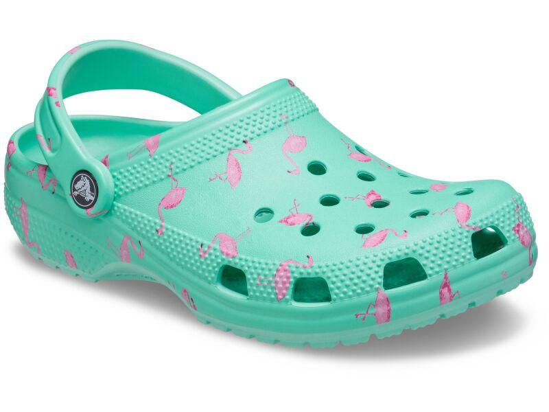 Crocs™ Classic Vacay Vibes Clog Flamingo