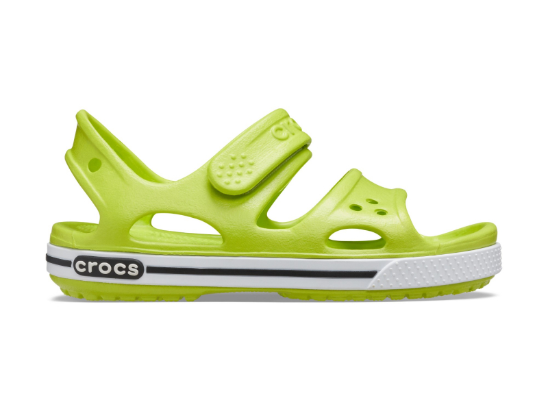 Crocs™ Kids' Crocband II Sandal PS Lime Punch/Black