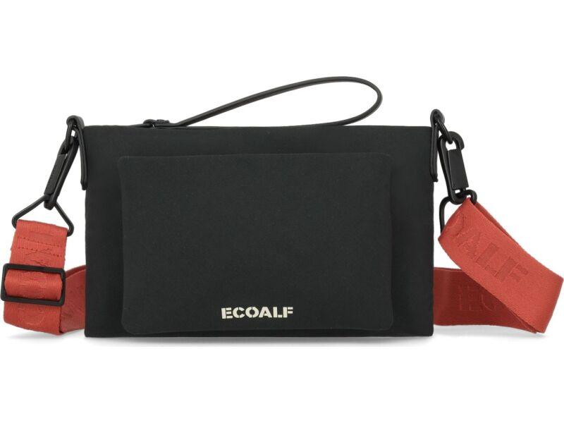ECOALF Mid Flat Clutch Black