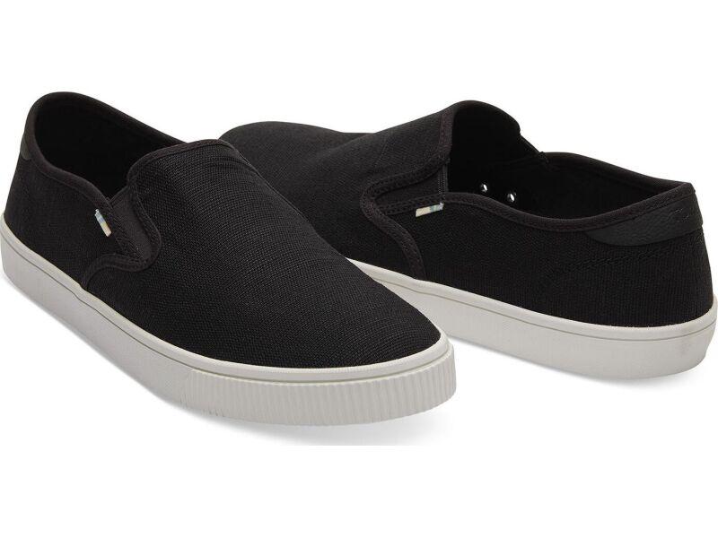 TOMS Heritage Canvas Men's Baja Sneaker Black