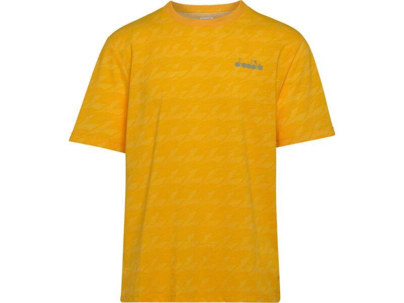 DIADORA SS T-Shirt Plus Be One All Over Saffron