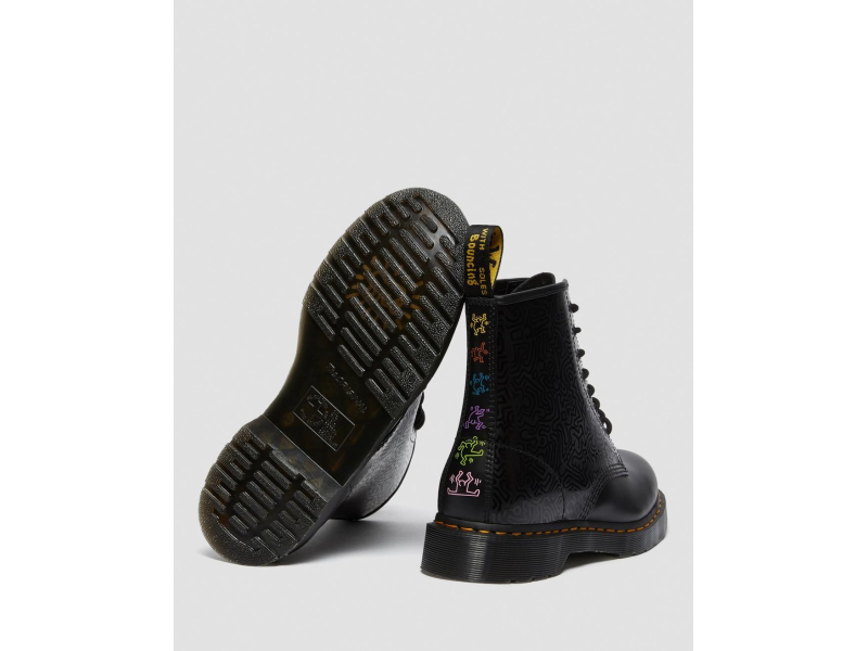 Dr. MARTENS 1460 Keith Haring Smooth 26832001 Black