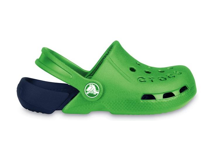 Crocs™ Kids' Electro Kelly green/Navy