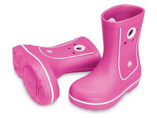 Crocs™ Kids' Crocband™ Jaunt Ryškiai rožinė