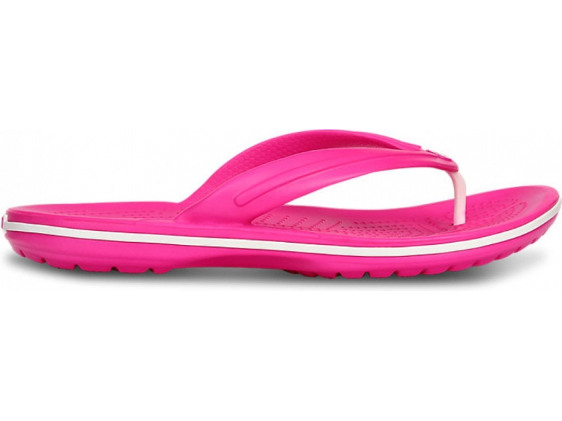 Crocs™ Crocband™ Flip Ryškiai rožinė/Balta
