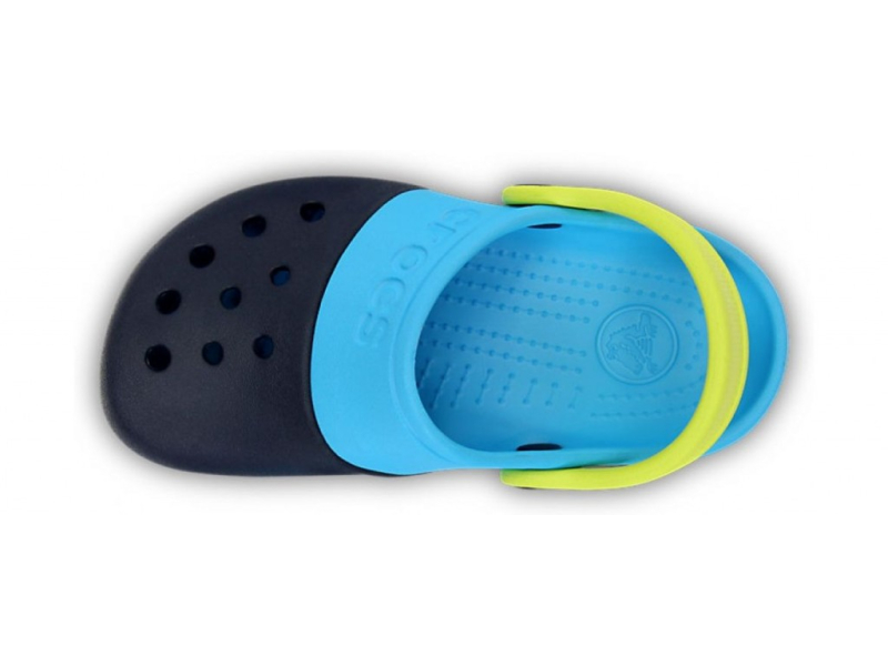 Crocs™ Kids' Electro II Clog Navy/Electric Blue