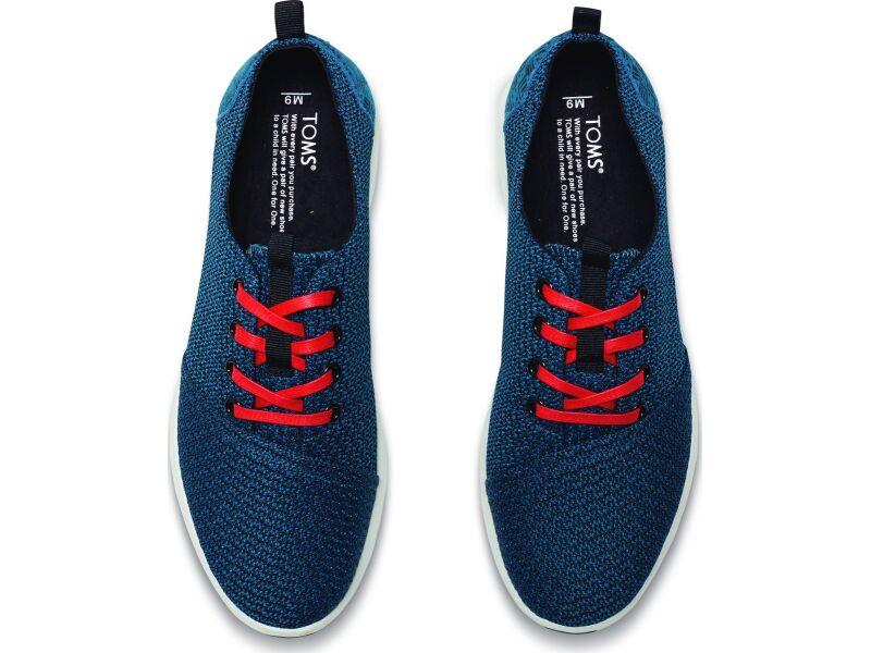 TOMS Mesh Men's Viaje Sneaker Legion Blue