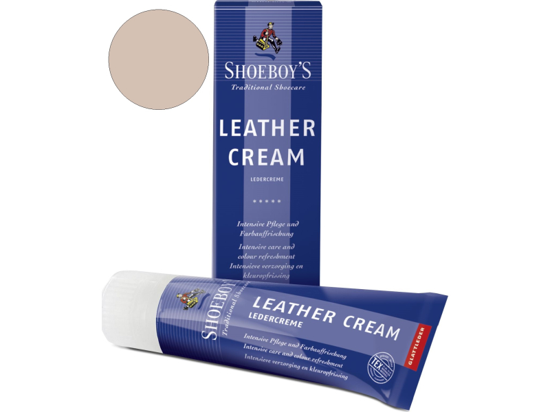 Shoeboy's Leather Creme 75ml Kūno spalvos
