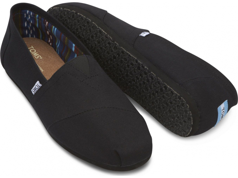 TOMS Canvas Men's Classic Alpargata Nl Black/Black