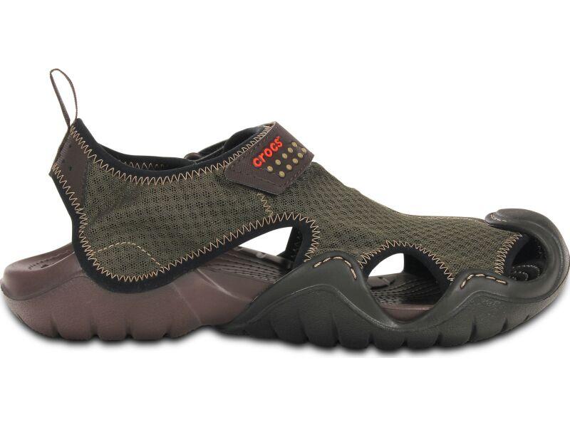 Crocs™ Swiftwater Sandal Espresso/Espresso