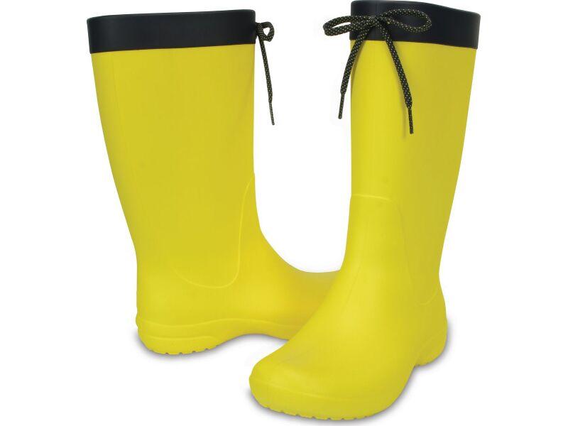 Crocs™ Freesail Rain Boot Lemon