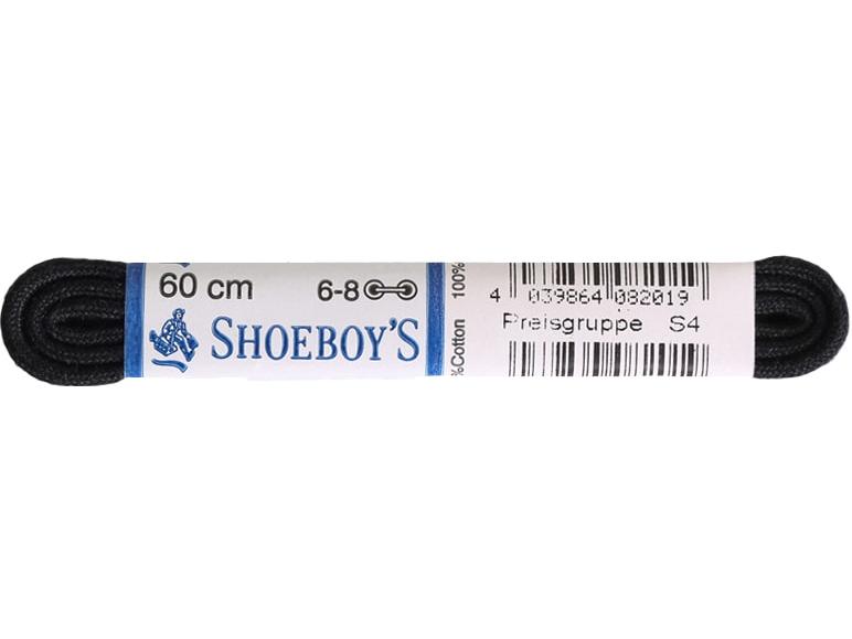 Shoeboy's Apvalūs batų raišteliai (60 CM) Black