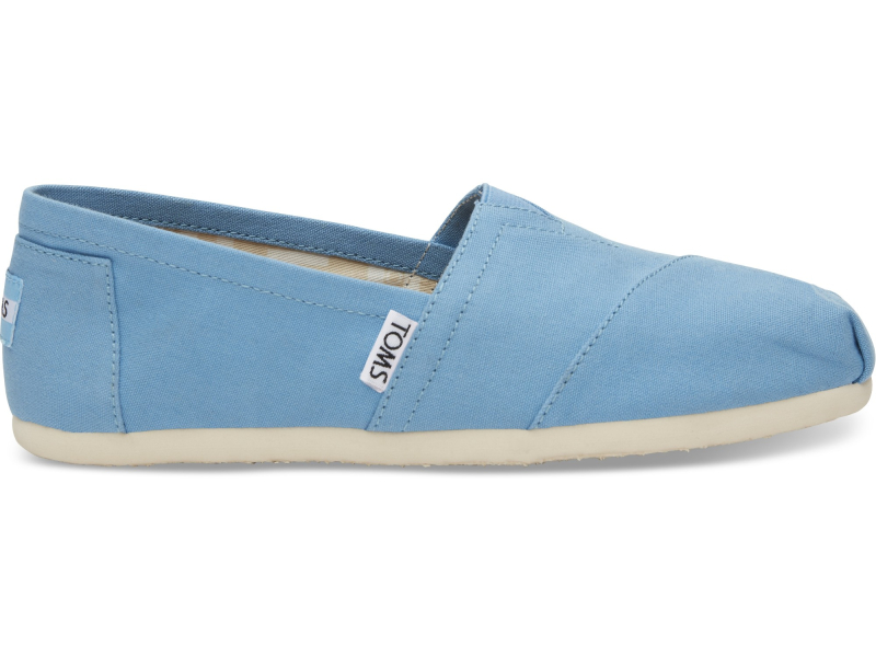 TOMS Canvas Women's Alpargata Cornflower Blue