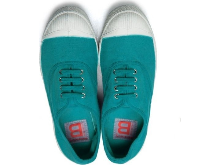 BENSIMON Tennis Lacets TURQUOISE