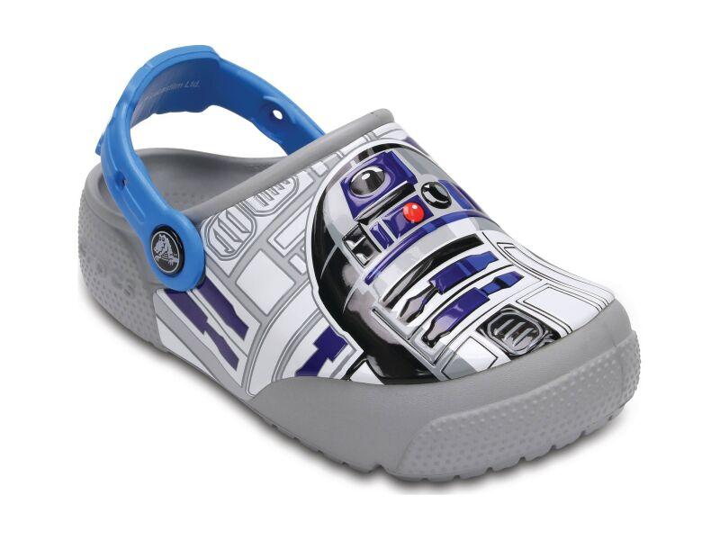 Crocs™ Funlab Lights R2D2 Ocean/Light Grey