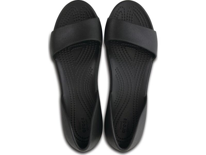 Crocs™ Lina Dorsay Flat Black