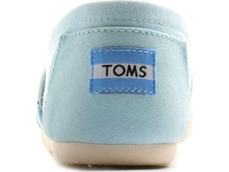 TOMS Canvas Women's Alpargata Canal Blue