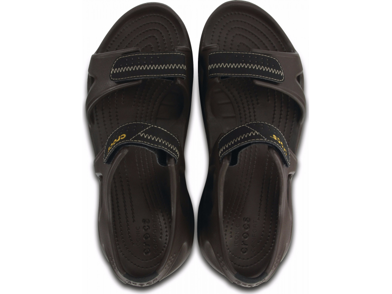 Crocs™ Swiftwater River Sandal Espresso/Black