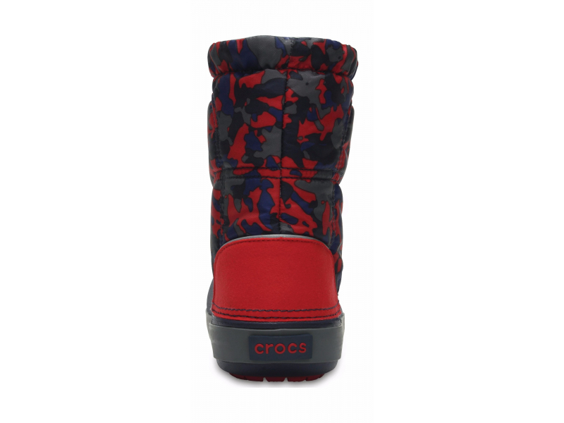 Crocs™ Crocband Lodgepoint Graphic Kid's Navy/Pepper