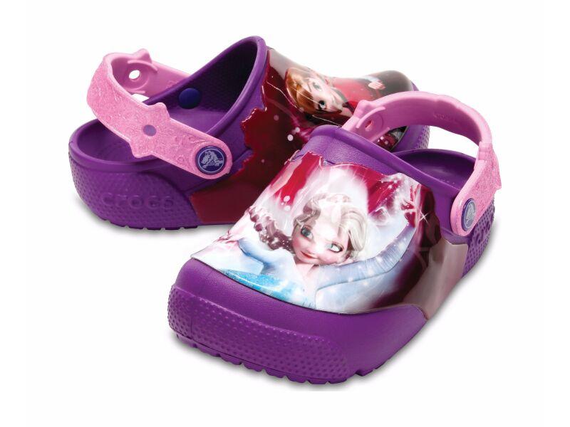 Crocs™ Funlab Lights Frozen Clog Berry