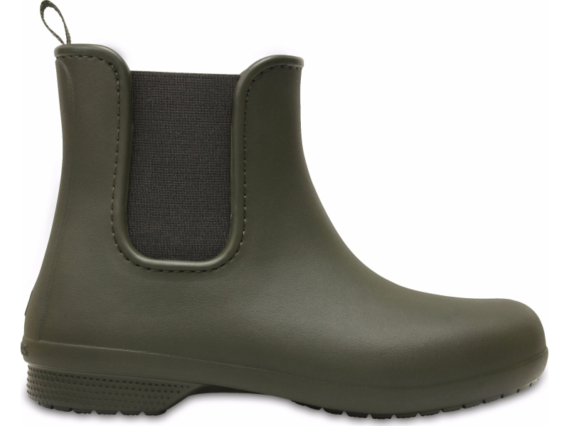 Crocs™ Freesail Chelsea Boot Dark Camo Green